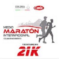 medio maraton colima 21k