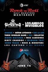 bandas AT&T Rock 'n' Roll Half Marathon Monterrey