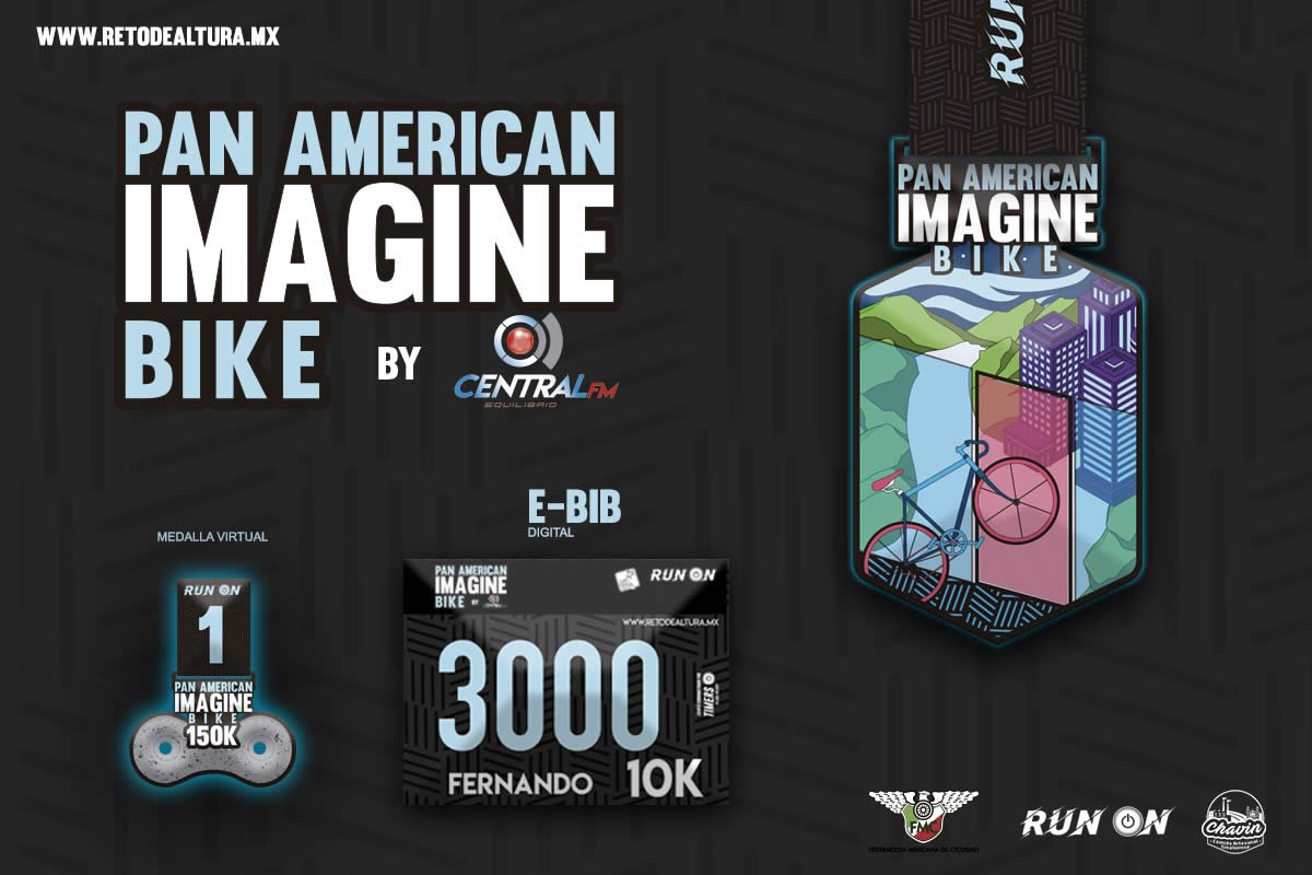 PAN AMERICAN IMAGINE BIKE (CARRERA VIRTUAL)