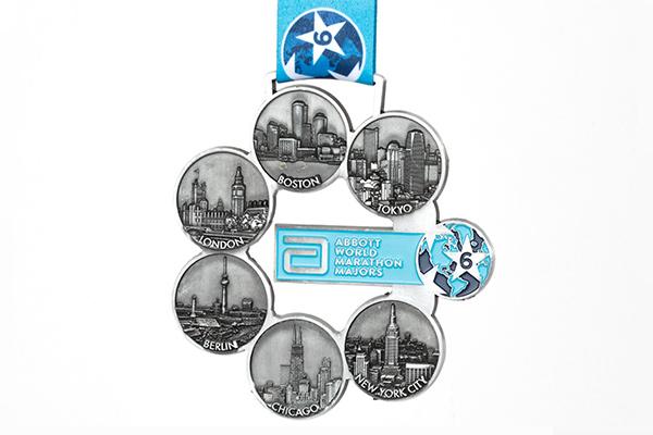 medalla World Marathon Majors