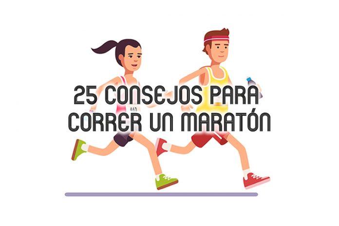 25 consejos maraton tips