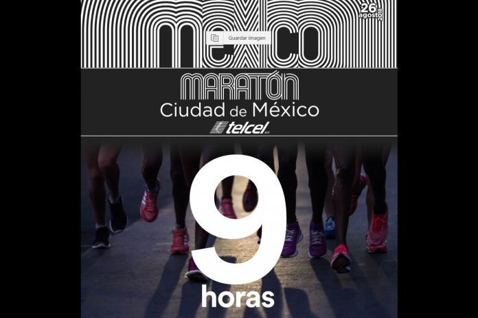 9 horas maraton de la ciudad de mexico