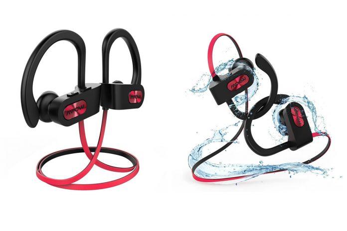 181005536f2 Audifonos Mpow Bluetooth, Impermeables, Inalámbricos para tus carreras
