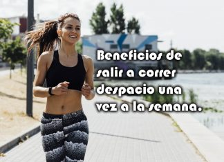 Beneficios de salir a correr despacio una vez a la semana.
