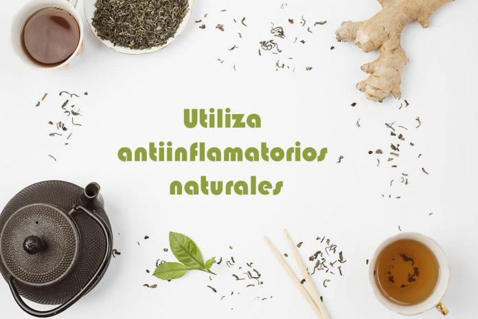 Utiliza antiinflamatorios naturales