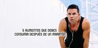 alimentos maraton