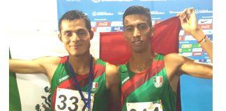 Oro y plata para México en 1,500m en el atletismo de JCC Barranquilla 2018