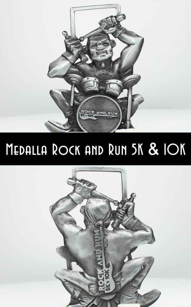 medalla rock and run