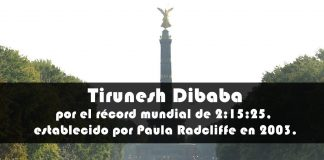Tirunesh Dibaba maraton berlin 2018