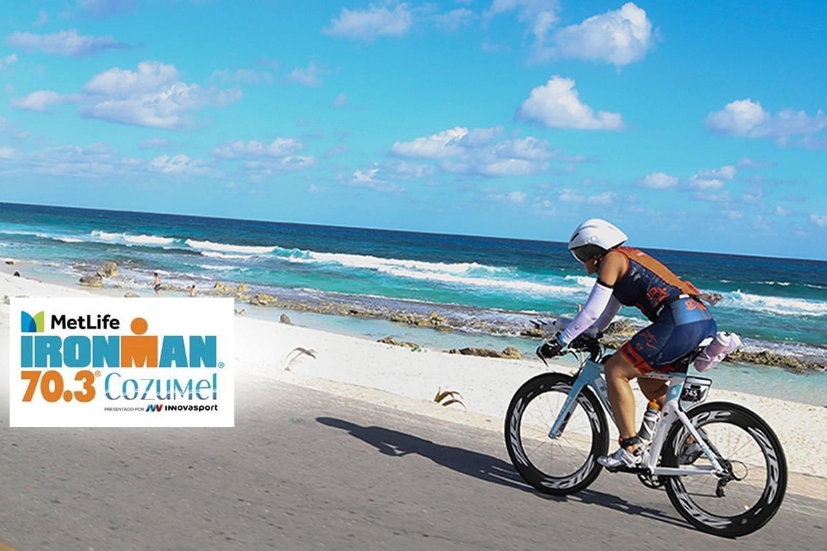 0472d9556684 El Metlife Ironman 70.3 Cozumel presentado por Innovasport se llevará a  cabo el Domingo 30 de septiembre de 2018. Se recibirán a 2300 competidores  de 53 ...
