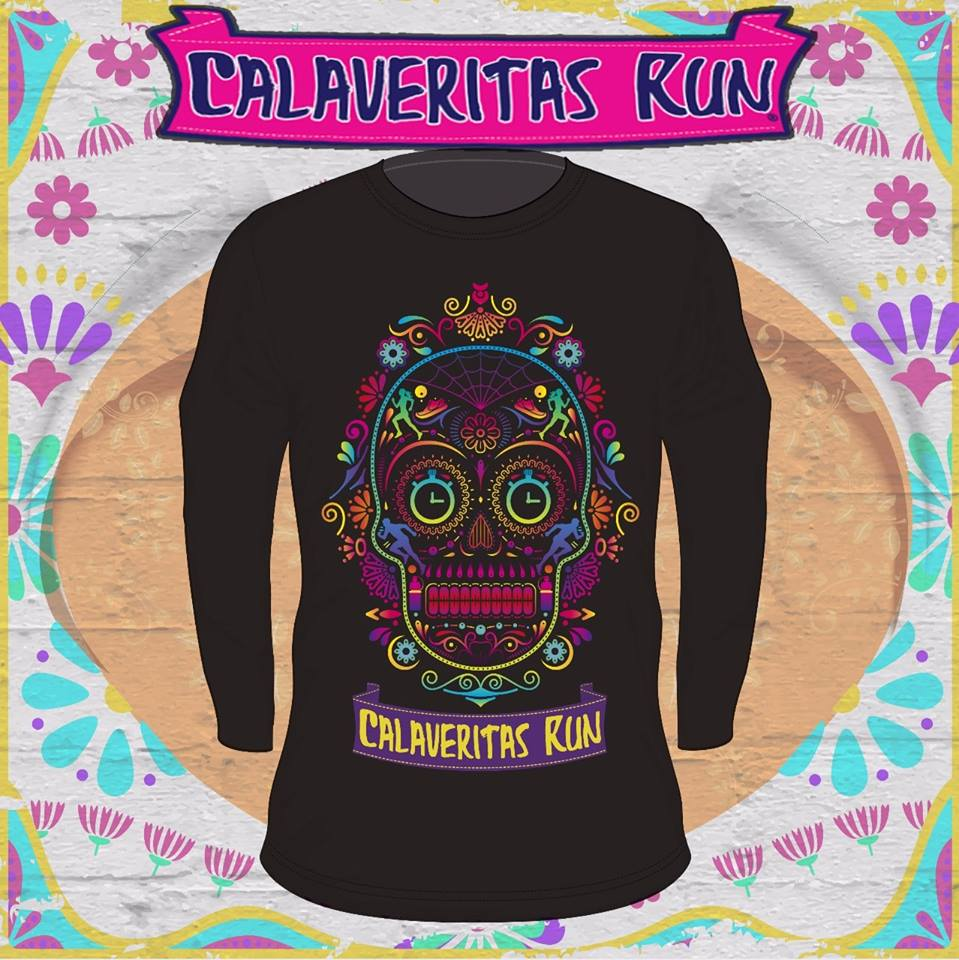 playera calaveritas run