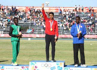 Luis Avilés oro Juegos Olímpicos de la Juventud