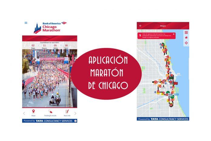 aplicación maraton de chicago