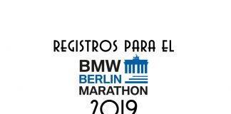 registros berlin maratón 2019