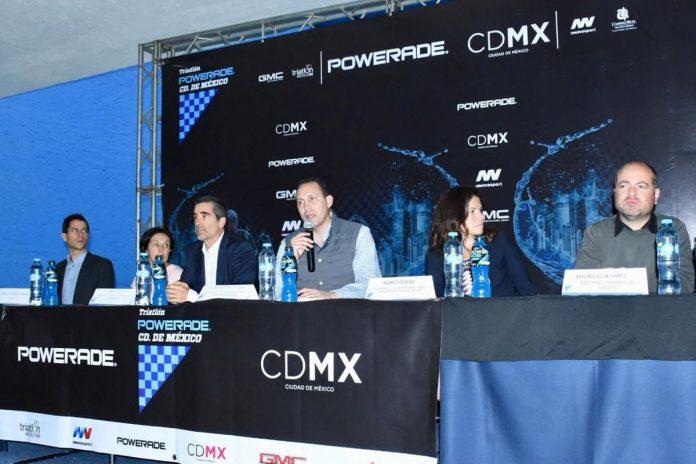 ruta carrrera Triatlón Powerade Ciudad de México 2018
