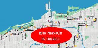 ruta del maraton de chicago