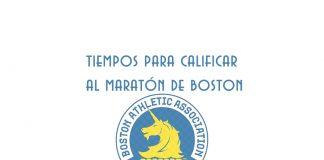 tiempos calificar maraton boston