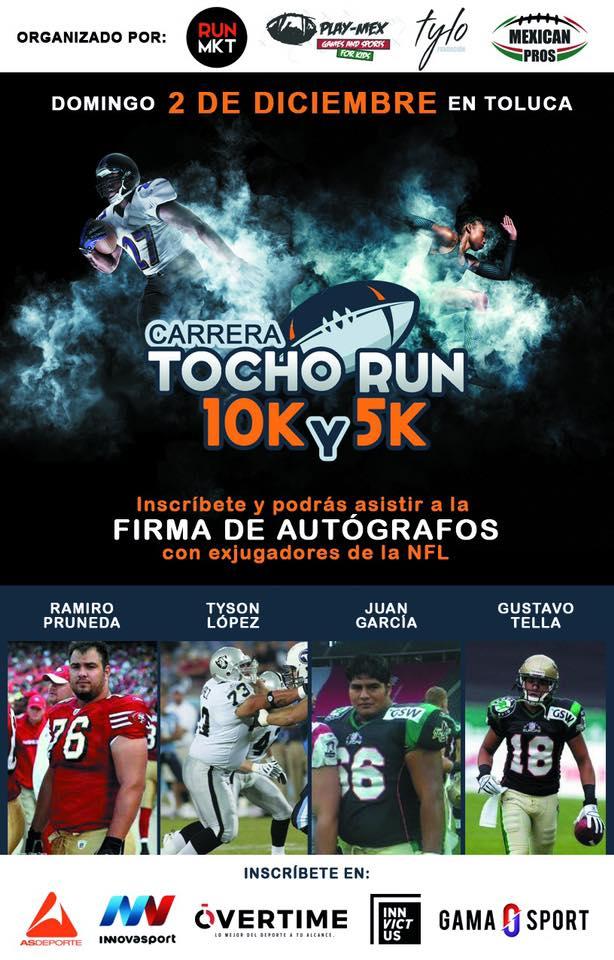 tocho run 2018 5k y 10k