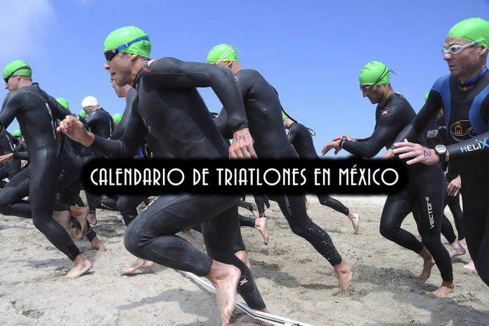 CALENDARIO DE TRIATLONES MÉXICO 2019