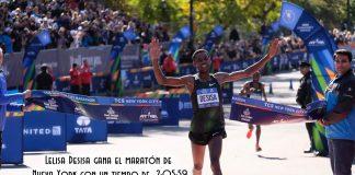 Lelisa Desisa gana el maratón de nueva york