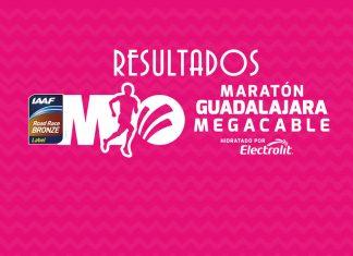 RESULTADOS MARATON GUADALAJARA 2018