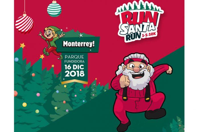 run santa run monterrey