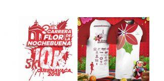 CARRERA FLOR DE LA NOCHEBUENA 5K Y 10K CUERNAVACA, MORELOS