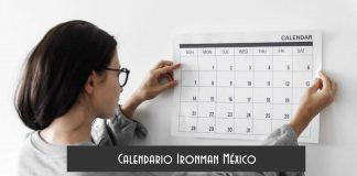 Calendario Ironman México