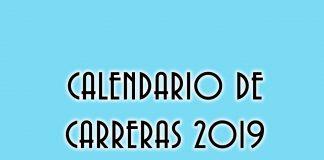 Calendario carreras 2019