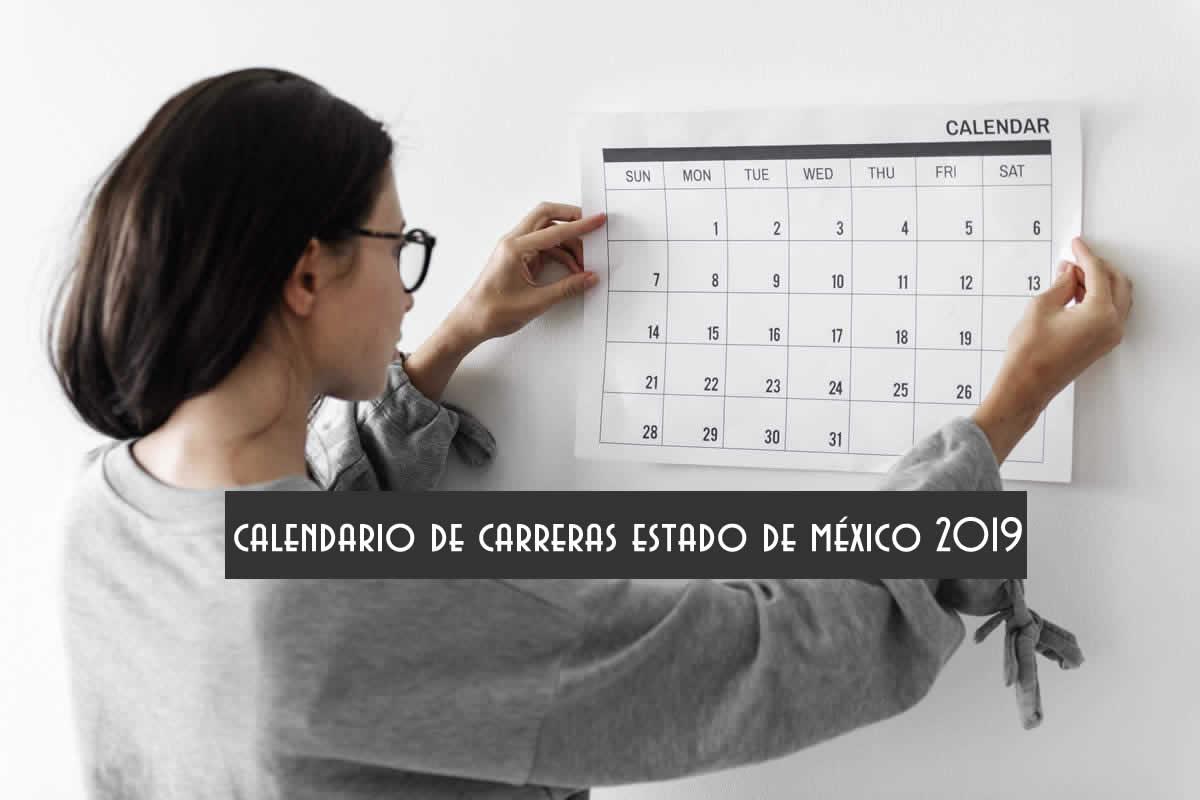 Calendario de carreras Estado de México 2019
