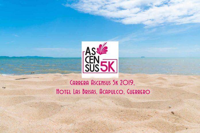 carrera Ascensus 5K 2019, el 20 de enero se llevará acabo la carrera Ascensus 5k, en el Hotel las Brisas, Acapulco, Guerrero. No se ustedes, pero suena al pretexto ideal para unas vacaciones, disfrutar con la pareja y amigos.