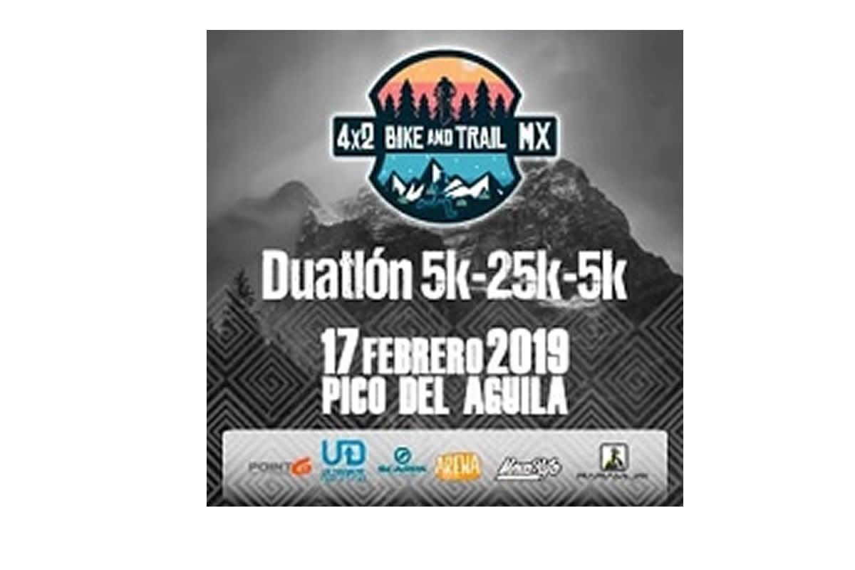 4×2 Desafío Duatlón Bike and Trail México 2019