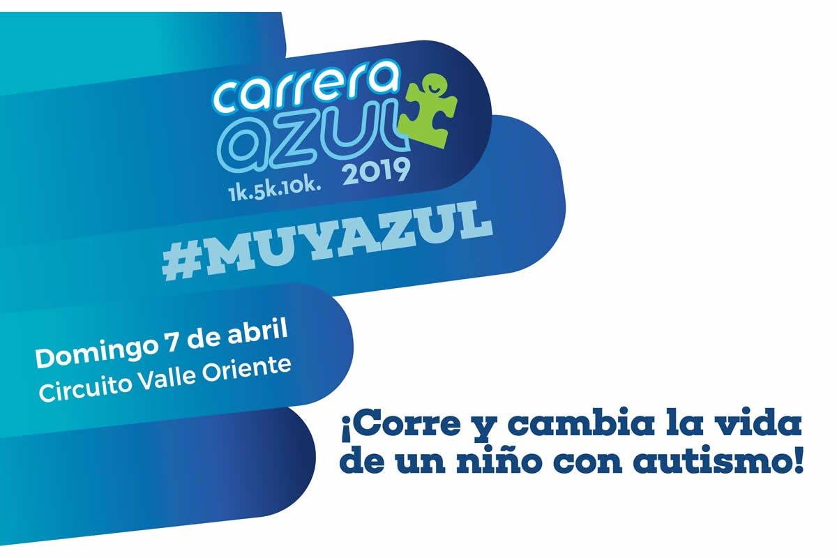 Carrera azul 2019