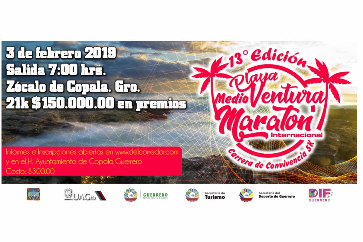 Medio Maratón de Playa Ventura 2019