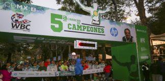 Resultados de la Carrera de Campeones WBC 2019