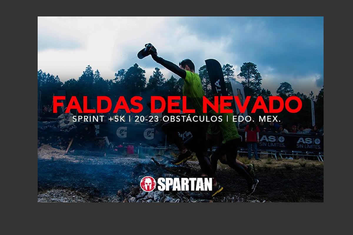 Spartan Sprint Faldas del Nevado 2019