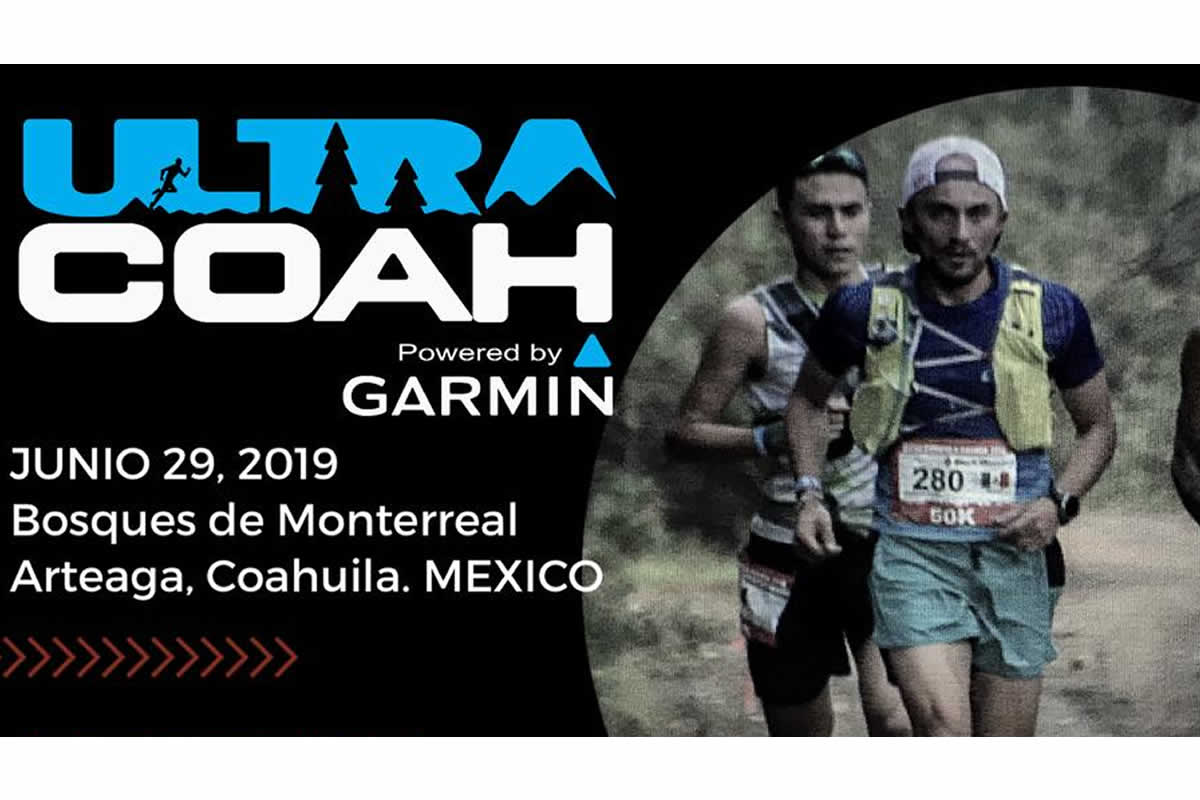 Ultra Maratón Coahuila Garmin 2019