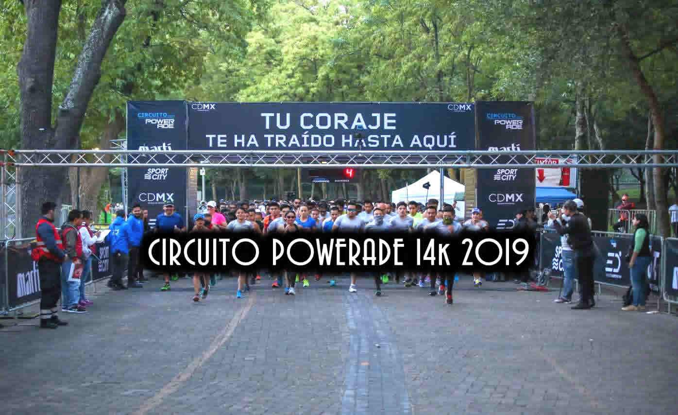 Carrera circuito Powerade 14k 2019