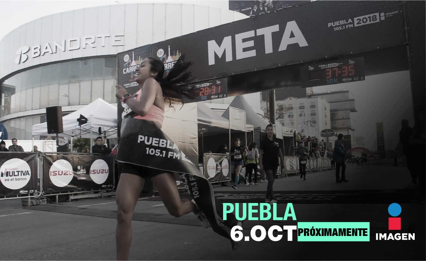 Carrera imagen Puebla 2019