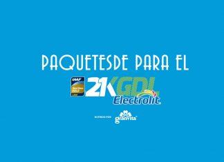 Paquetes para el 21k Electrolit Guadalajara