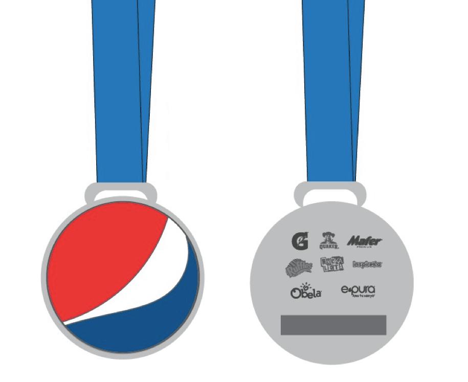 Medalla Pepsico 2019