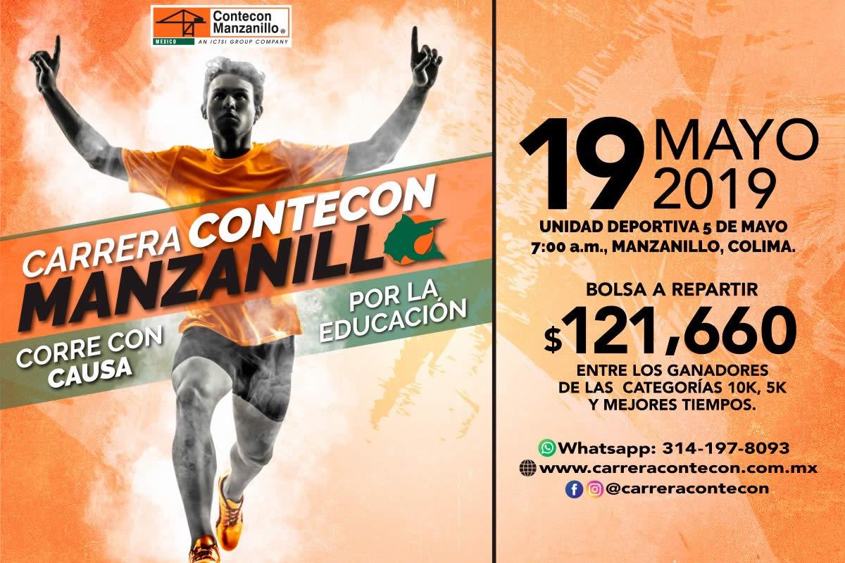Carrera CONTECON Manzanillo 2019