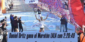 Daniel Ortiz gana el Maratón LALA