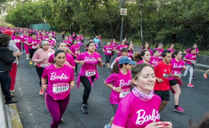 barbie run 2019