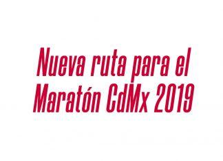 ruta al Maratón de la Ciudad de México 2019
