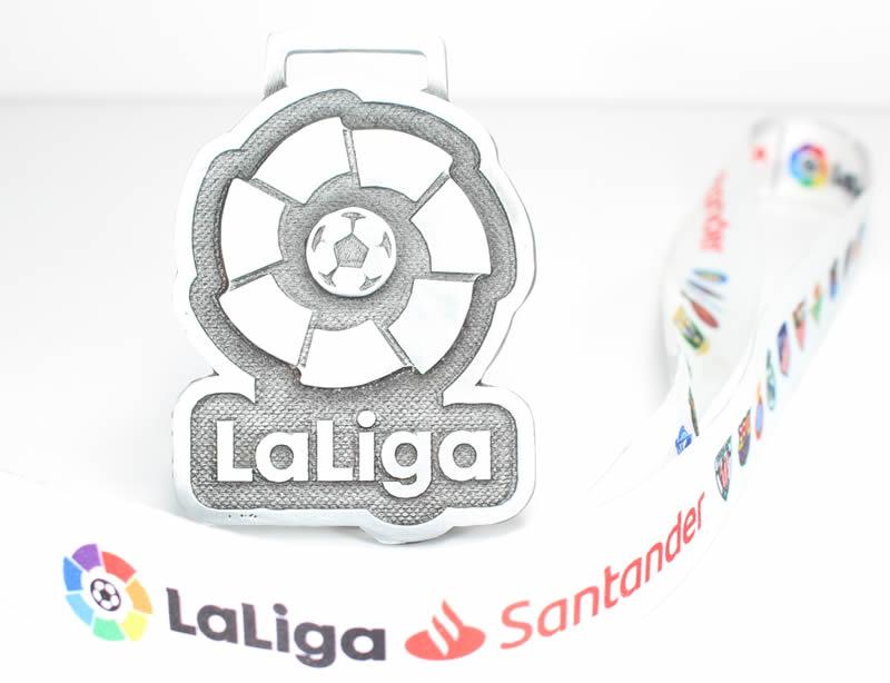 medalla carrera la liga 2019