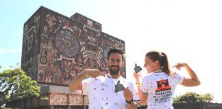 playera y medalla maraton ciudad de mexico 2019