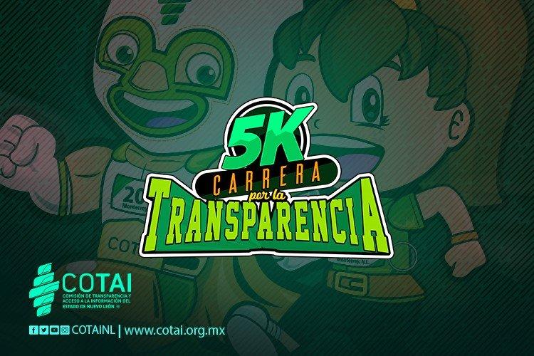 5K CARRERA POR LA TRANSPARENCIA 2019