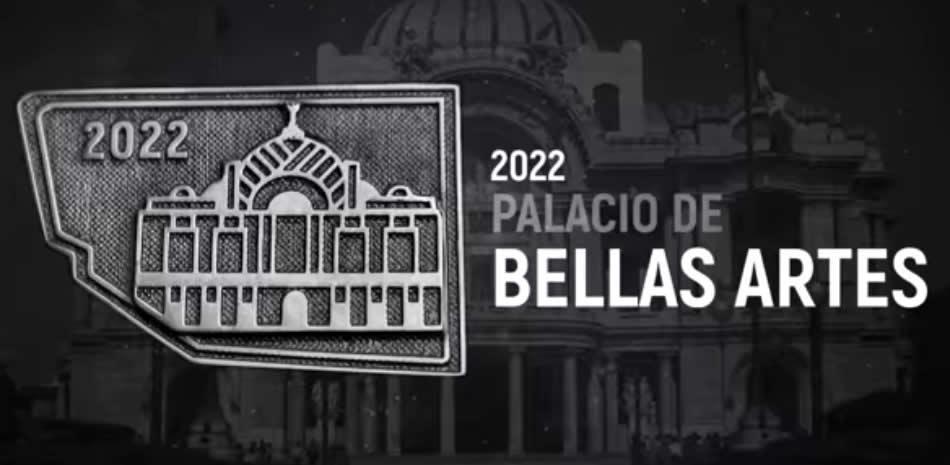 medalla maraton de la ciudad de México 2022