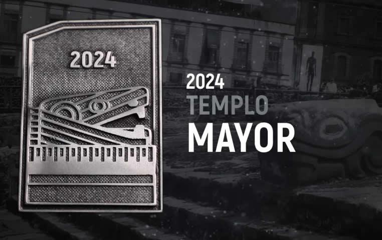 medalla maraton de la ciudad de México 2024